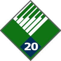 20 Year Service Pin